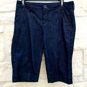 Kut From the Kloth Dark Wash Bermuda Shorts 6